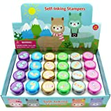 TINYMILLS 24 Pcs Llamas Stampers for Kids