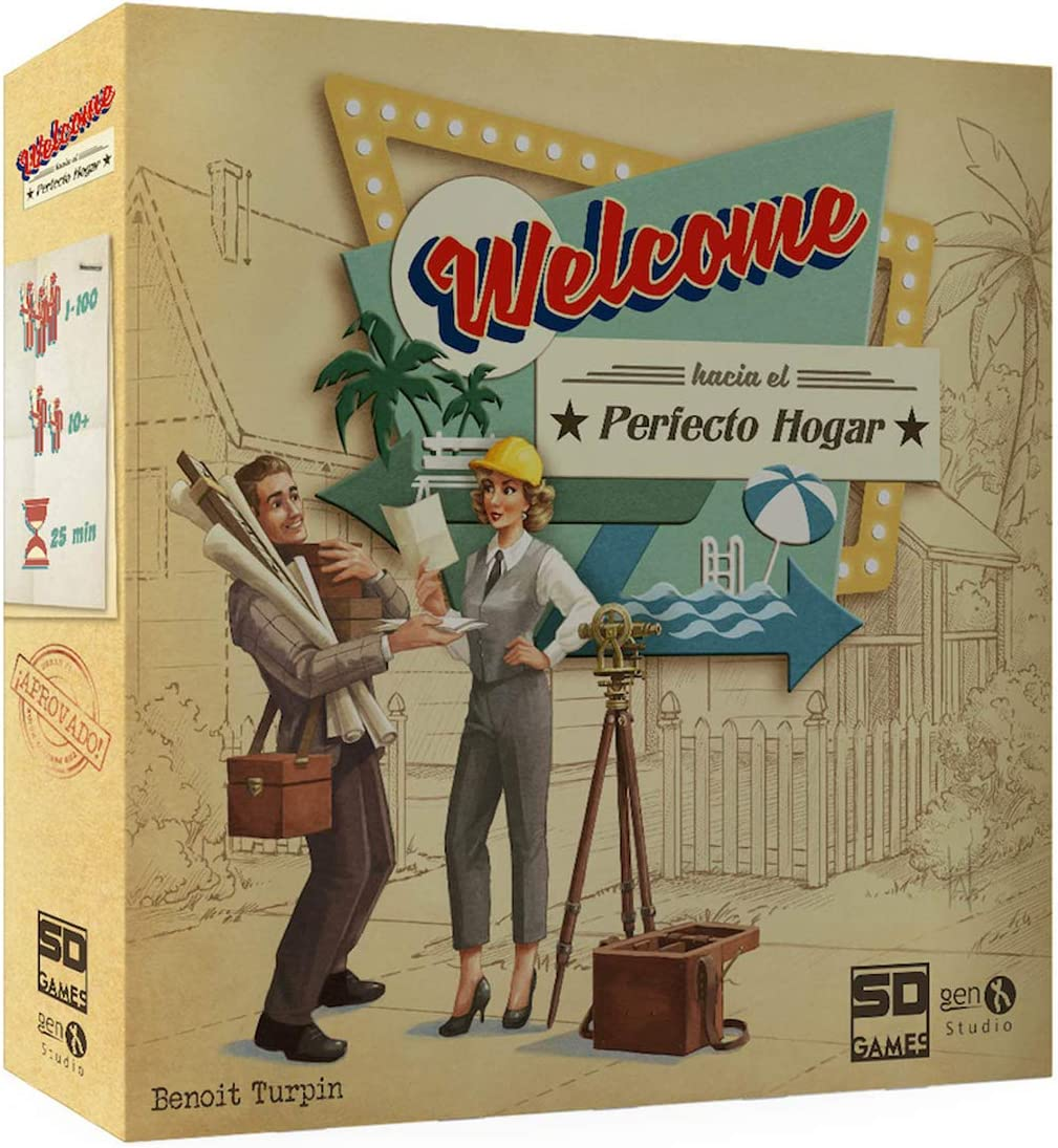 SD Games- Welcome hacia Hogar, Multicolor (SDGWELCTO01): Amazon.es ...
