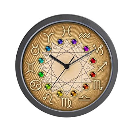 Astrología reloj de pared