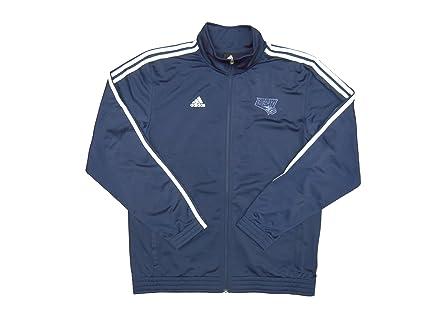 Nba Charlotte Bobcats Team Issued Adidas Travel Jacket Navy Size