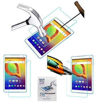 ACM Tempered Glass Screenguard for Alcatel A3 10  Volte  Tablet Screen Guard Tablet Accessories
