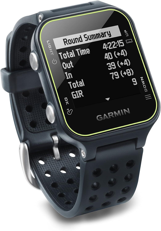 Garmin Approach S20 - Reloj de Golf con GPS, Gris (Slate) (Reacondicionado)