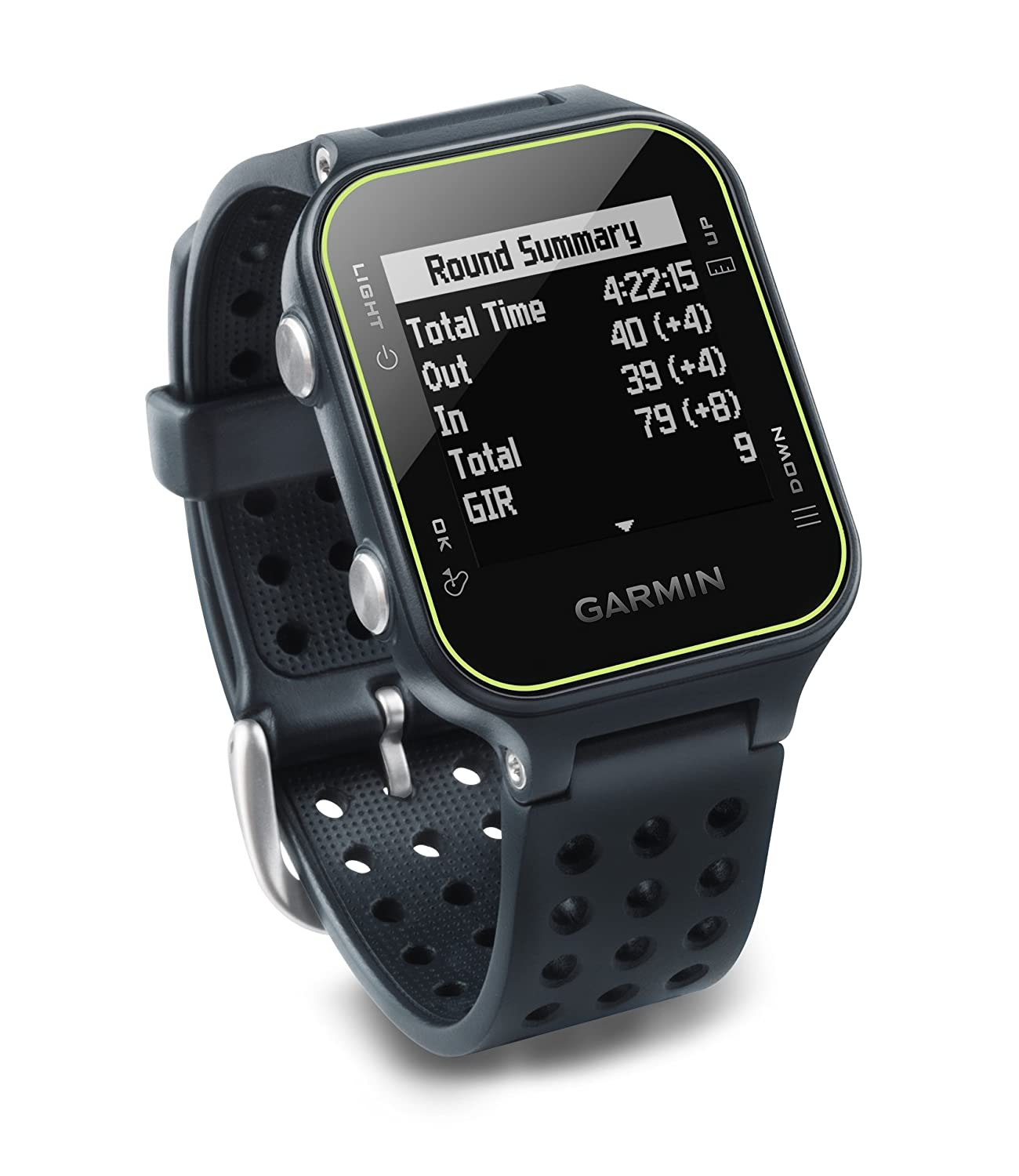 『1年保証』 [ガーミン]Garmin Approach S20, GPS Golf Approach Watch with B01B3BPMHA Step Tracking, Tracking, Preloaded Courses, Slate[並行輸入] スレートSlate B01B3BPMHA, バージンダイヤモンド専門店:5e4c82aa --- h909215399.nichost.ru