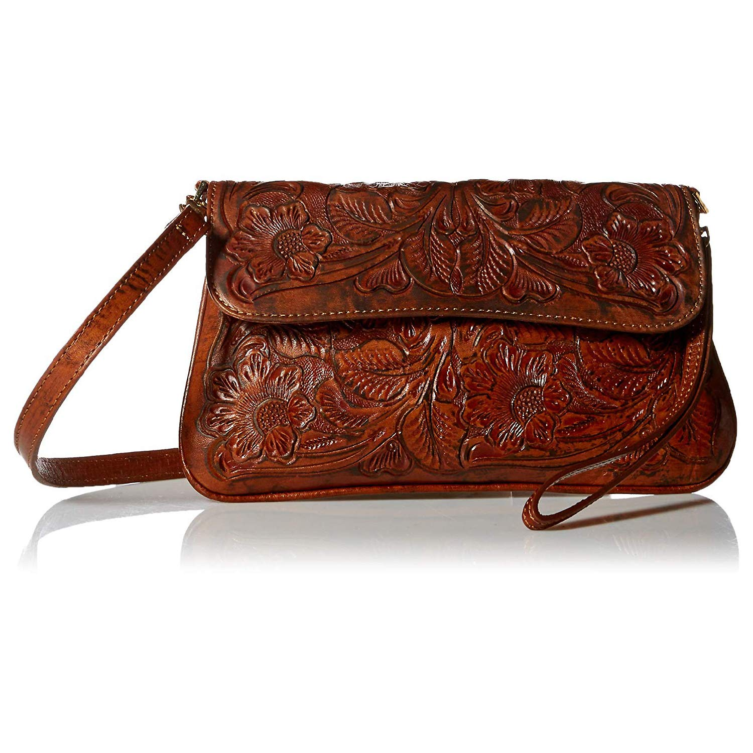 Edwardian Gloves, Handbags, Hair Combs, Wigs Mauzari Womens Genuine Leather Crossbody Purse with Removable Straps — Artisan Crafted $124.95 AT vintagedancer.com