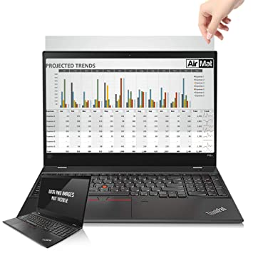 AirMat 14 inch Laptop Privacy Screen Filter for Widescreen Displays (16:9  Aspect Ratio) - Premium Anti Glare Protector