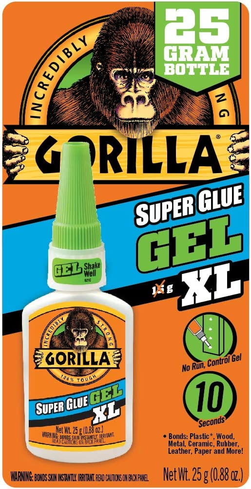 Gorilla Super Clear Glue Gel XL