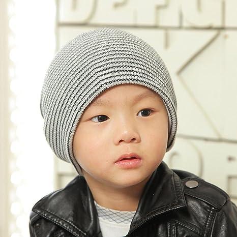 da9c4e1a45e6 Amazon.com  FEITONG Baby Beanie Boy s Soft Hat Children Winter Warm ...