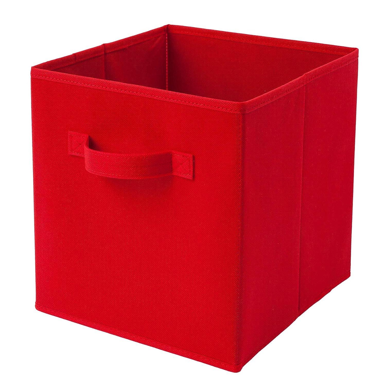 Giocattoli Animali Domestici, mensole Homelife per Biancheria cameretta dei Bambini Camera da Letto Confezione da 6 contenitori Pieghevoli a Forma di cubo