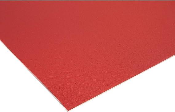 2,00m x 4,50m Schwer Entflammbar PVC Bodenbelag EXPOTOP Profi Vinylboden Uni Wei/ß PVC Boden Meterware Vinyl Reflektiert Nicht Einfarbig