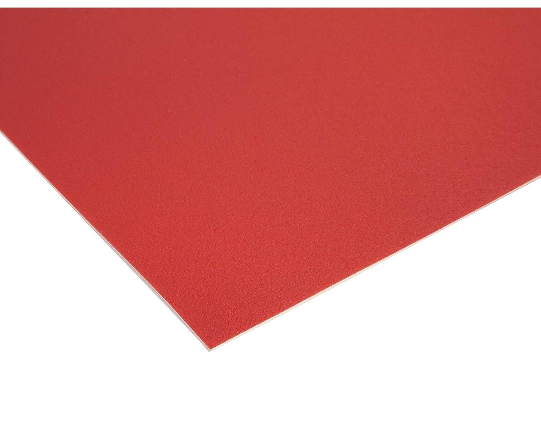 2,00m x 3,00m Einfarbig Uni Anthrazit PVC Boden Meterware Vinyl PVC Bodenbelag EXPOTOP Profi Vinylboden Schwer Entflammbar