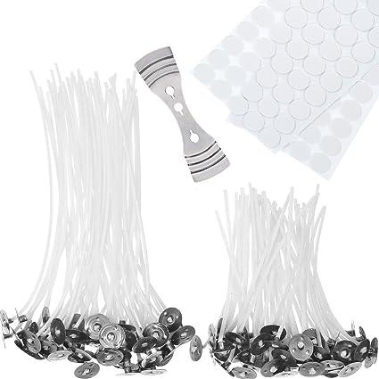 100 Stück Kerze Dochte Wchs Wick Baumwolle Core Passend für DIY Macht 10cm//20cm