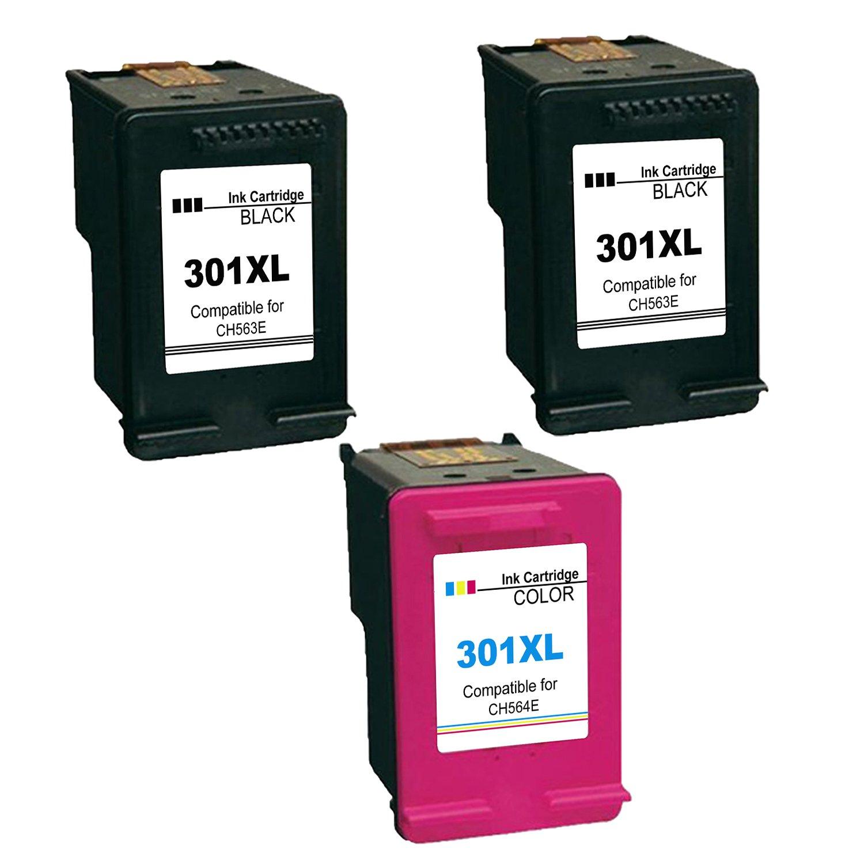 Inkseller Tinta para HP 301XL Cartuchos de Tinta para 301 XL ...
