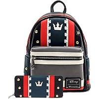 Loungefly Disney Kingdom Hearts 3 Sora Cosplay Mini Backpack Wallet Set