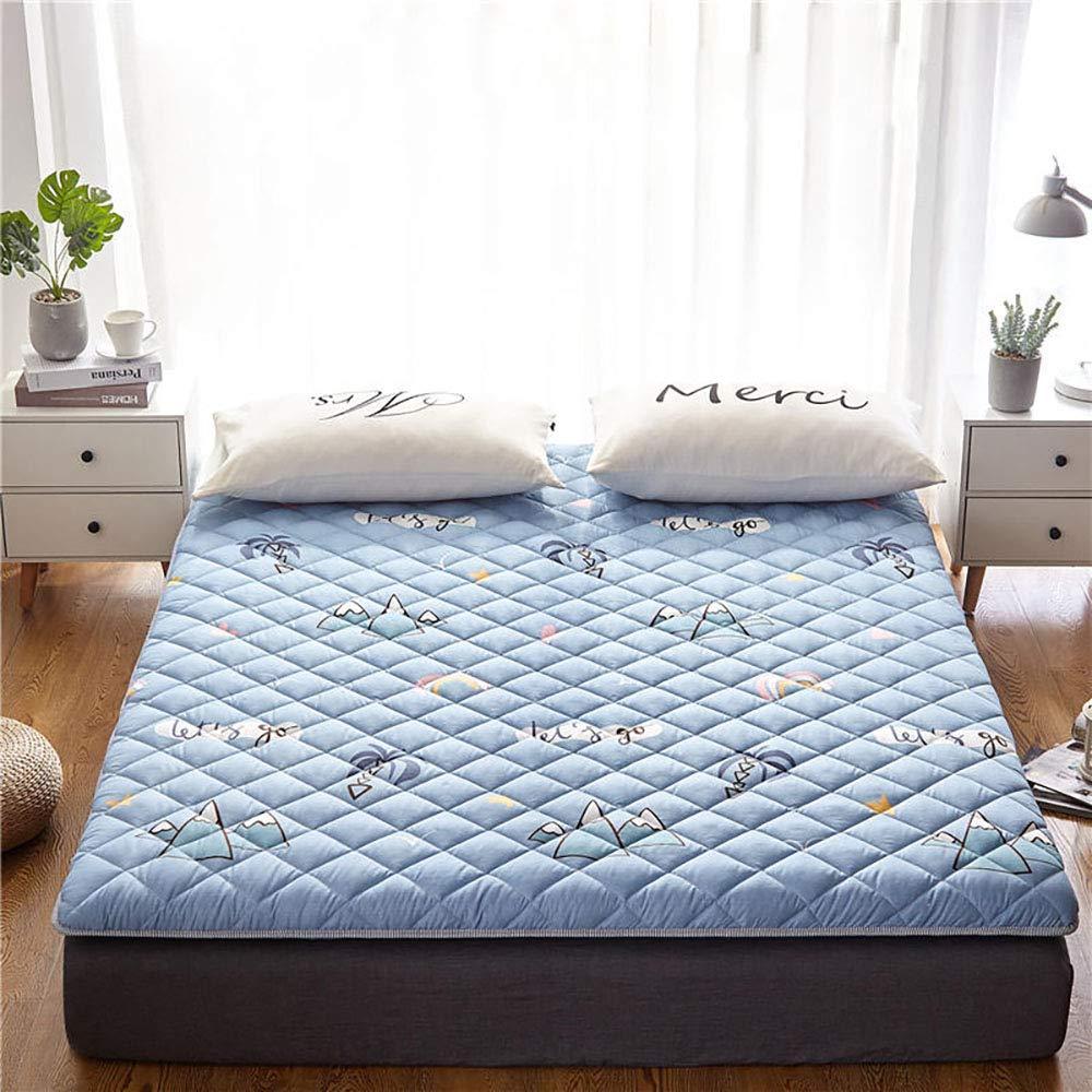 GFYL Tatami Thick Mattress,Japanese Futon Tatami Mat Sleeping,Bedroom Mattress Tatami Mat, Thicken Foldablenon-Slip Mattress for Dorm Bedroom Home,D,100200cm(4079inch) by GFYL