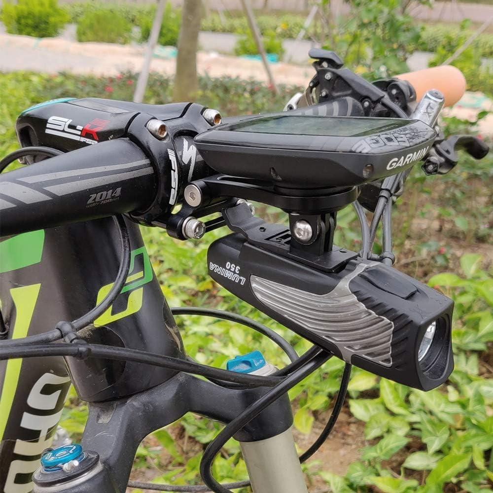 Supporto da Manubrio per Garmin Edge Adattatore NiteRider Garmin Edge 25 130 200 500 510 520 800 810 Best Tek per Manubrio GoPro GoPro Action Camera