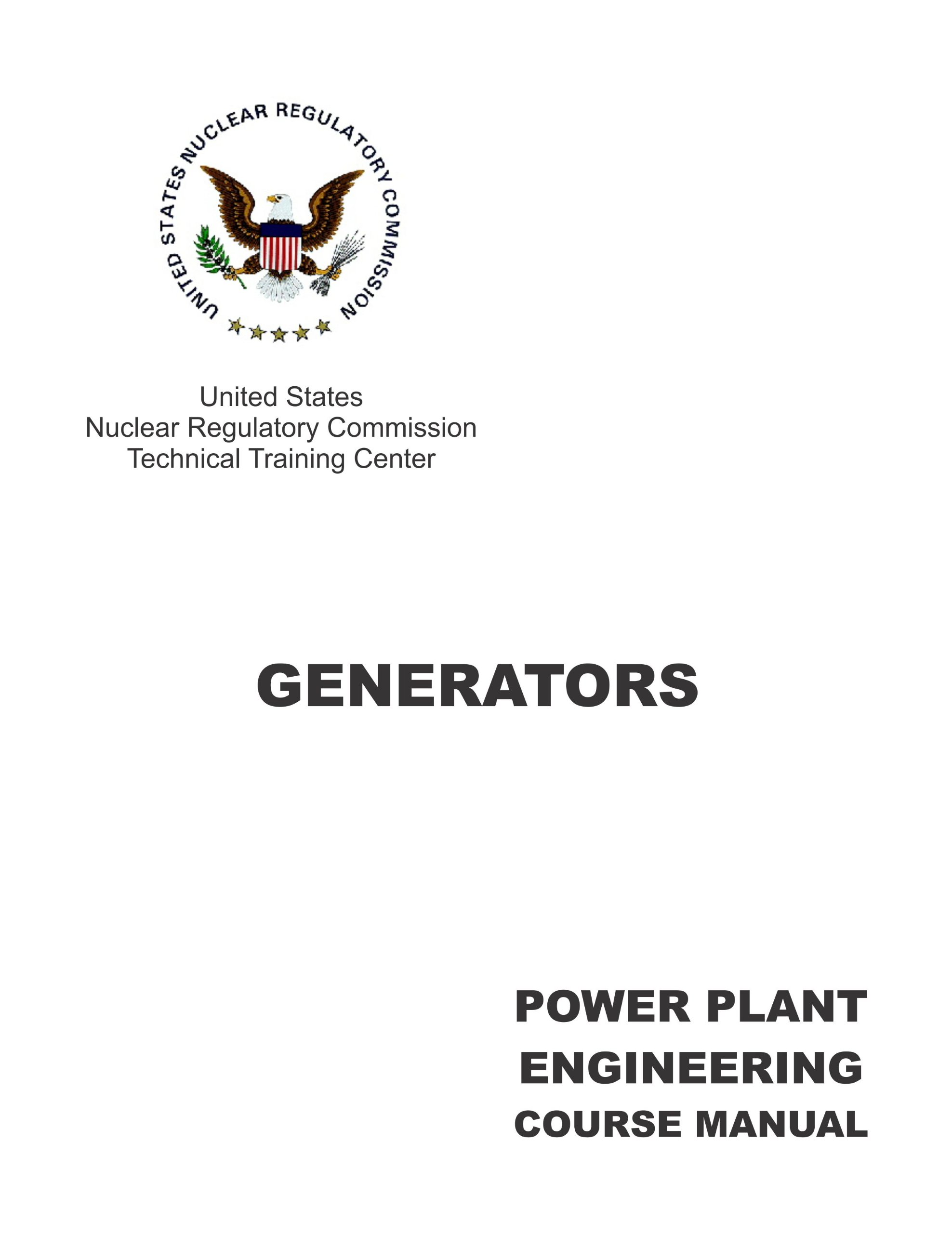 Power Plant Engineering Course Manual Sections 4 5 6 And 7 4