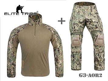 Tribe Airsoft Militaire Tactique Elite Costume Combat Uniforme Gen3 HIE29YWD