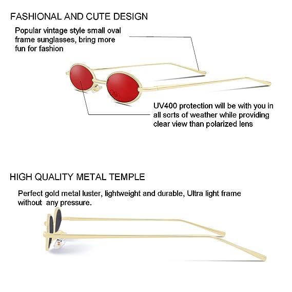 Amazon.com: Gafas de sol estilo gótico con marco de metal ...