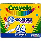 Crayola 58-8764 Washable Marker, Assorted, 64 count (Pack of 2)