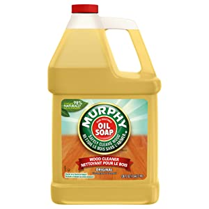 MURPHY OIL SOAP Wood Cleaner, Original, Concentrated Formula, Floor Cleaner, Multi-Use Wood Cleaner, Finished Surface Cleaner, 128 Fluid Ounce (US05480A)