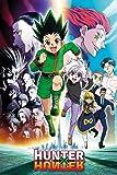 Hunter X Hunter - Manga / Anime TV Show Poster (Key Art - Running) (Size: 24 x 36 Inches)