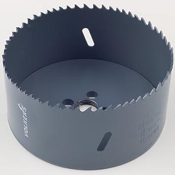 """Ø 210 mm 45 mm Bohrtiefe HSS BiM Lochsäge Bohrkrone 5//8/"""" x18 UNF für Metall Holz"""