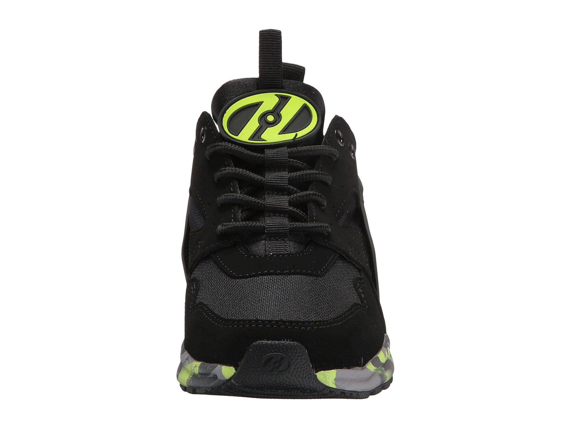 Heelys HE100095H Kid's Force Sneakers, Black/Brightyellow/Confet - 8 by Heelys (Image #5)