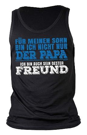 Vater Sohn Sprüche Trägershirt Sprüche Tshirt Papa