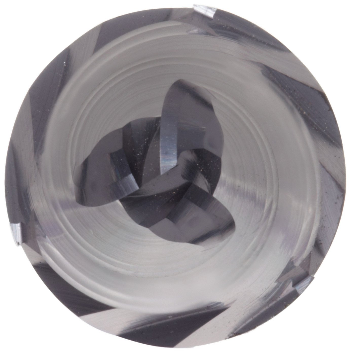 3 Overall Length YG-1 E5078 Carbide Ball Nose End Mill TIALN Multilayer Finish 0.25 Cutting Diameter 30 Deg Helix 0.25 Shank Diameter 3 Flutes