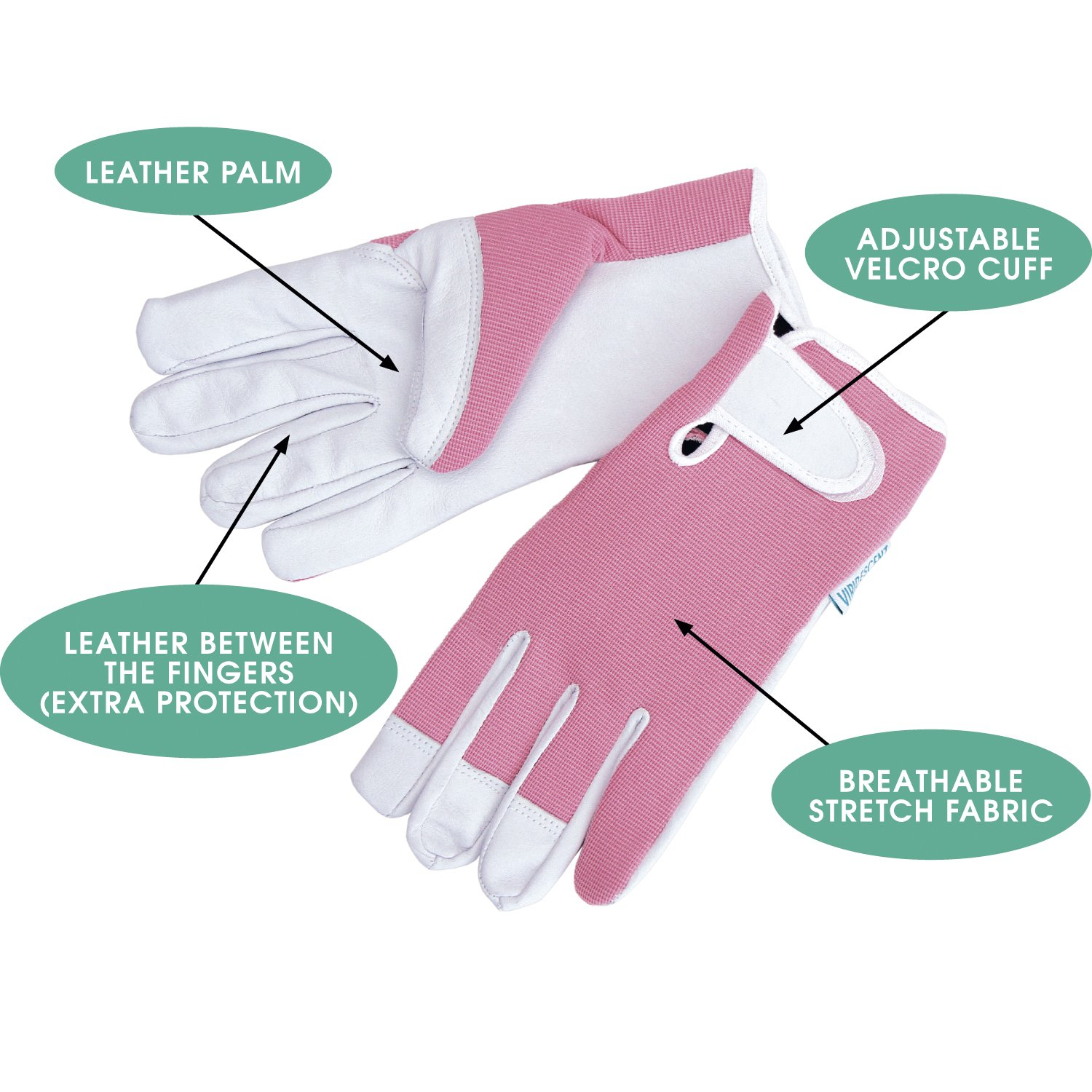 Extra small ladies leather gloves uk - Ladies Leather Gardening Gloves By Viridescent Feminine Slim Fit Work Gloves For Women Medium Or Small Ideal For Garden And Household Tasks