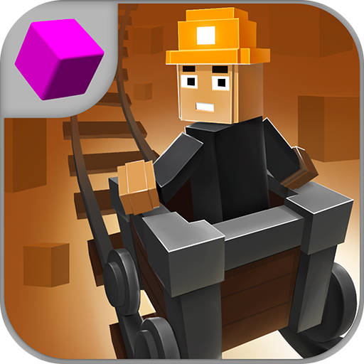 - Mine Cart Racing Contest 3D: Pixel Man Karting Racer Underground | Pixel Racing High Speed Chase