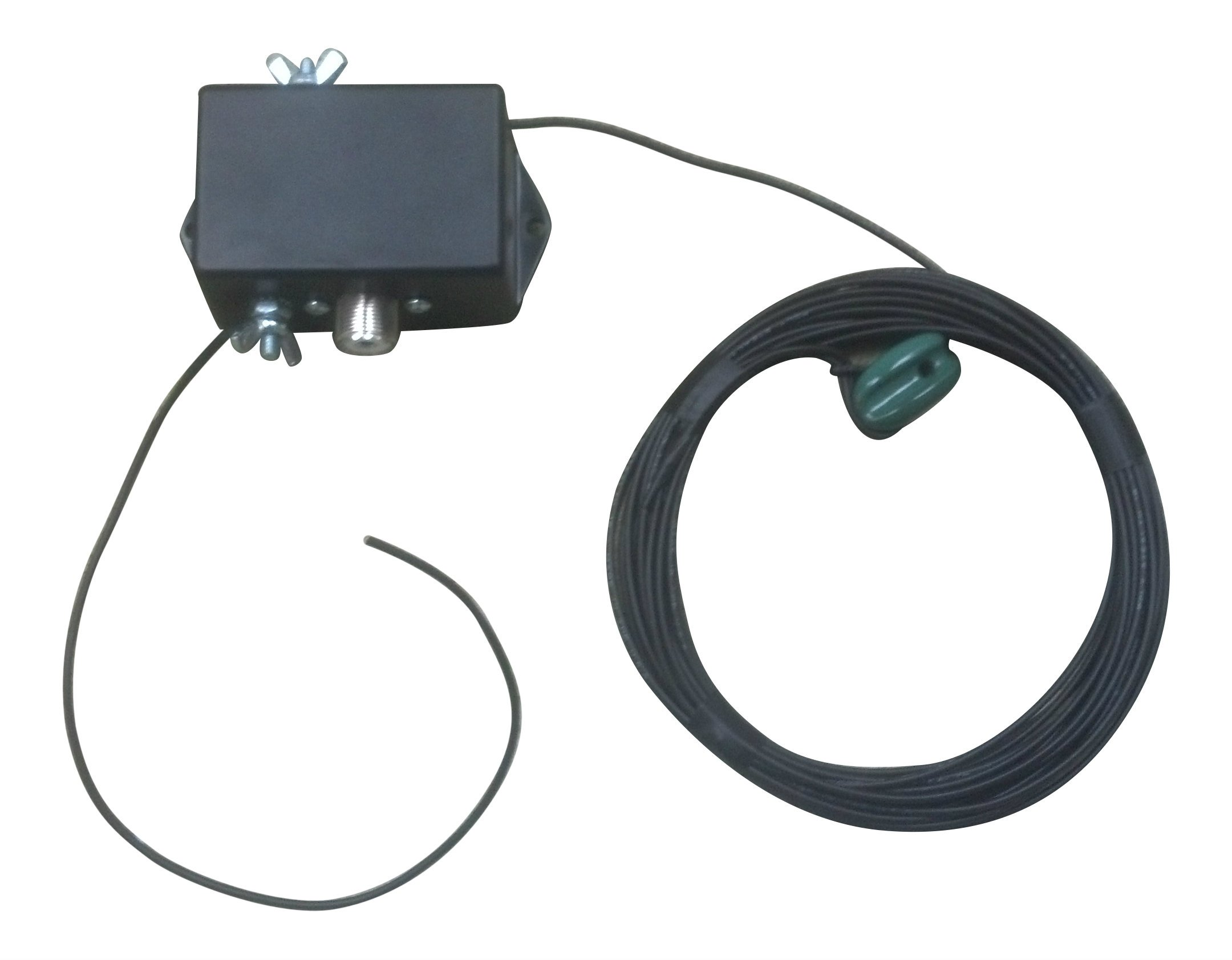 Portable End-Fed 40-6 Meters Poly-Stealth Dipole Antenna