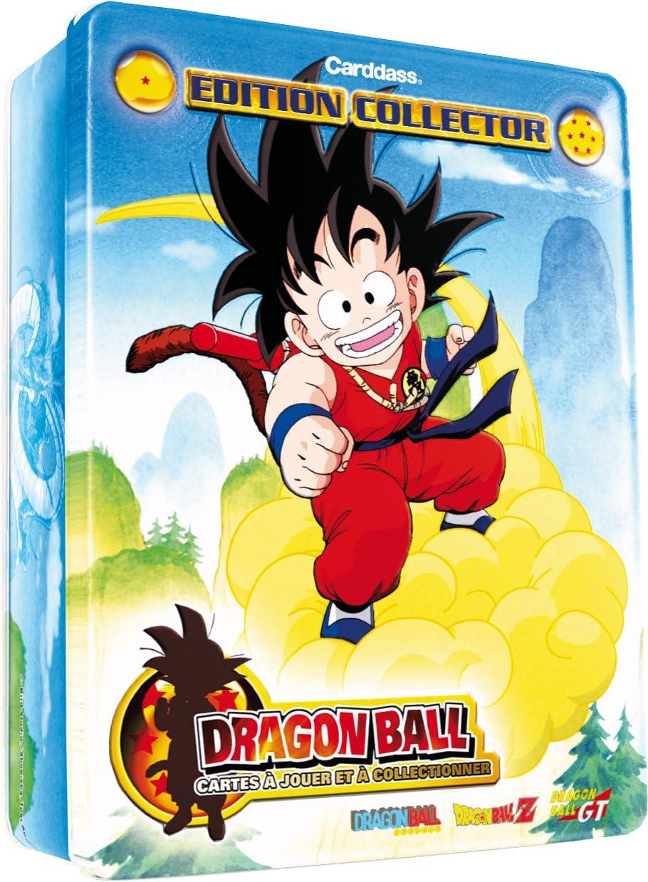 BANDAI – Dragon Ball Tarjetas – 5057 – Cartas coleccionables – Caja Metal Dragon Ball 2009: Amazon.es: Juguetes y juegos