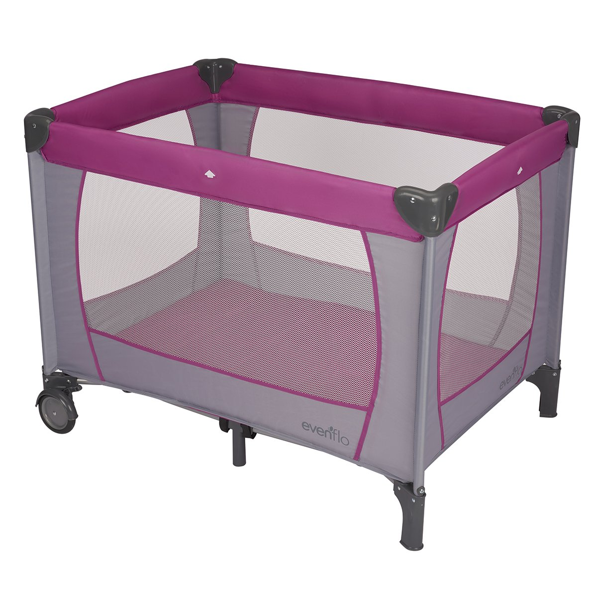 Evenflo Classic Playard, Purple, Grey 70712108