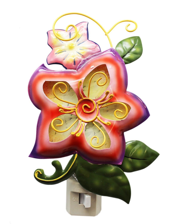 Garden Collectionメタル/ワイヤフローラルNightlight – :ピンク B07DWH1K8J/バイオレットFade Garden – byガンツ B07DWH1K8J, 伊奈町:47676bc6 --- ijpba.info