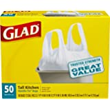 Glad Tall Handle-Tie Kitchen Trash Bags - 13 Gallon - 50 Count - 4 Pack