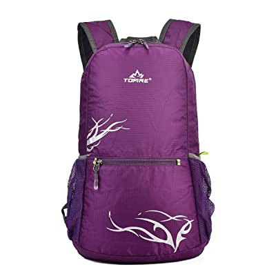 Tofine Tourist Backpacking Foldable Packable Backpack Travel for Boys Girls well-wreapped