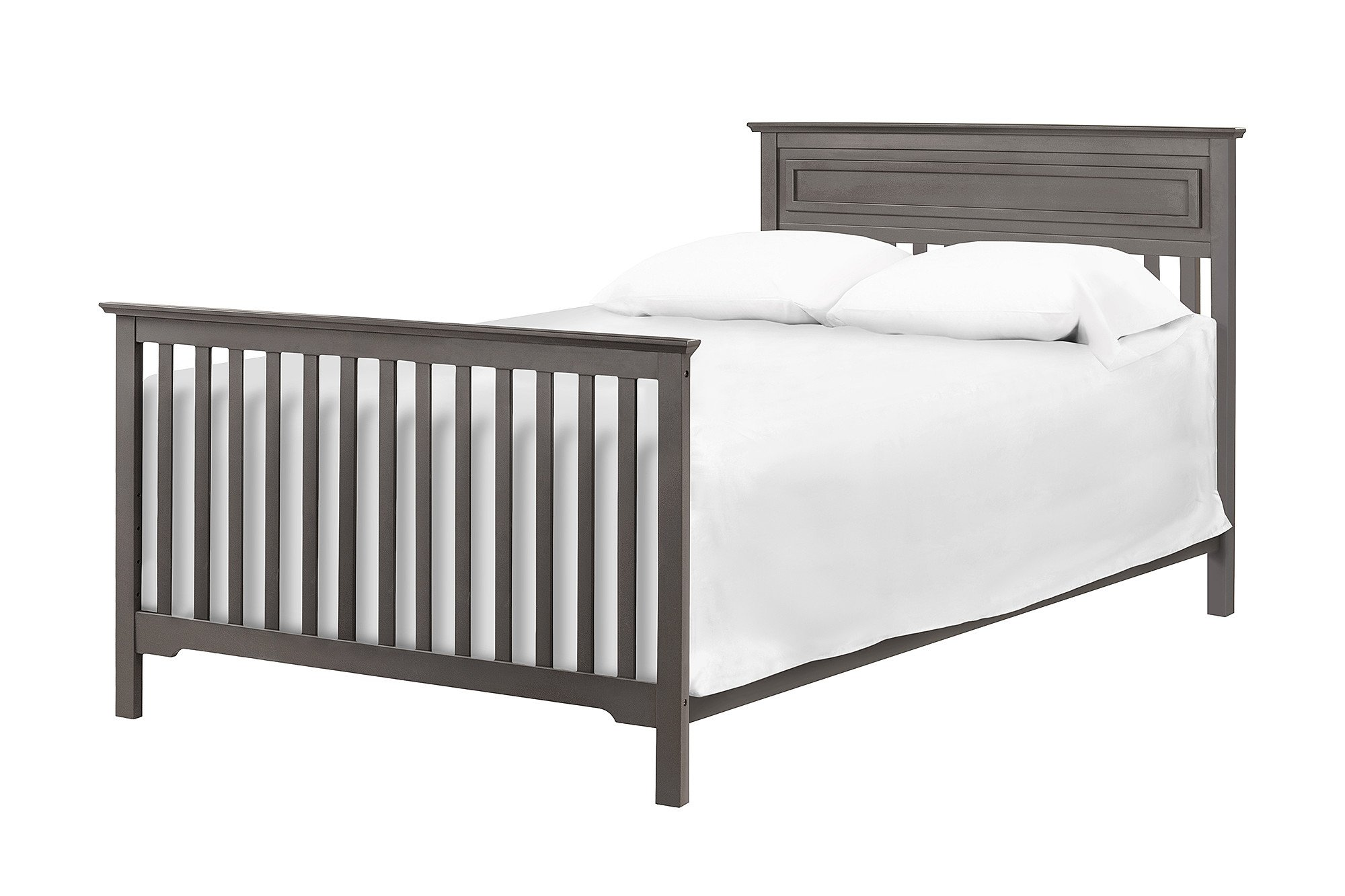 Full Size Conversion Kit Bed Rails for Davinci Autumn 4-in-1 Crib - Slate by Grow-with-Me Crib Conversion Kits (Image #2)