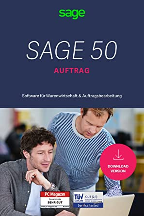 Sage 50 Auftrag Comfort Warenwirtschaft Software Pc Für Start Ups