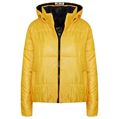 308313f6b Amazon.com  A2Z 4 Kids® Girls Jackets Kids Mustard Reversible ...