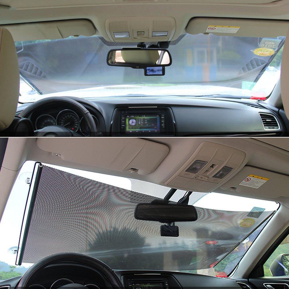 Sonnenschutz 2 Stuck Große Universelle Auto Sonnenblende Für Autofenster