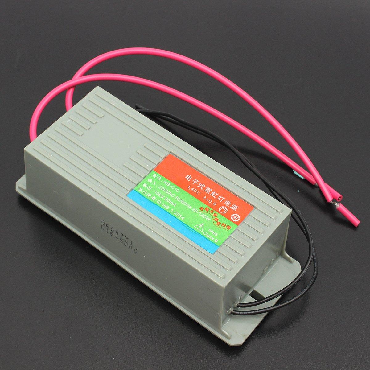 New 10KV 30MA HB-C10 Neon Electronic Transformer Load Neon Power ...