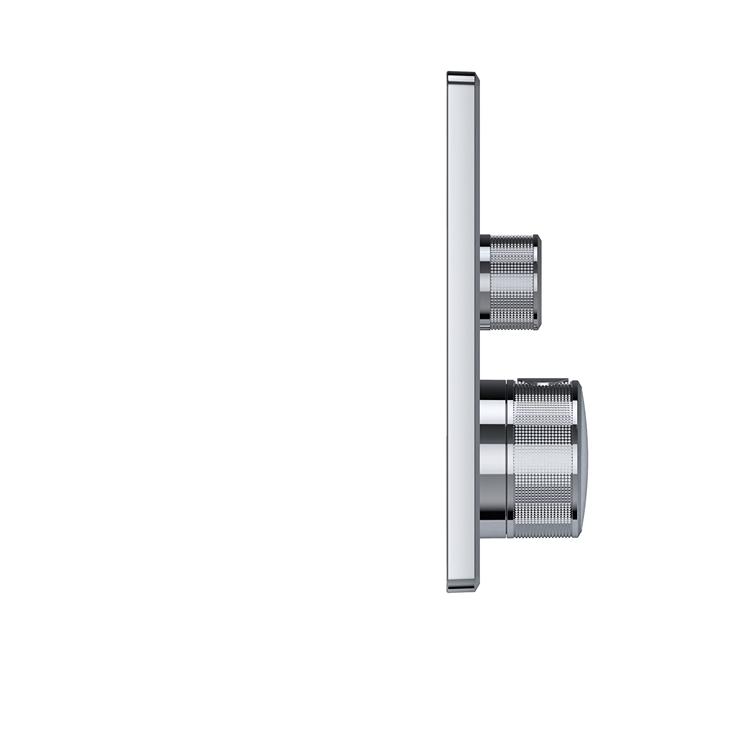 rund Grohe Grohtherm SmartControl Thermostat with Shut-Off Valve supersteel