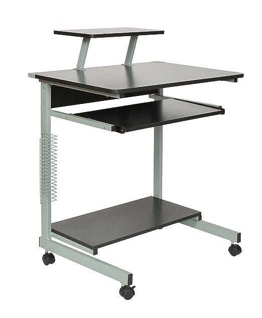 Ts-ideen 11808 - Mesa con ruedas para ordenador, tablero de fibras ...