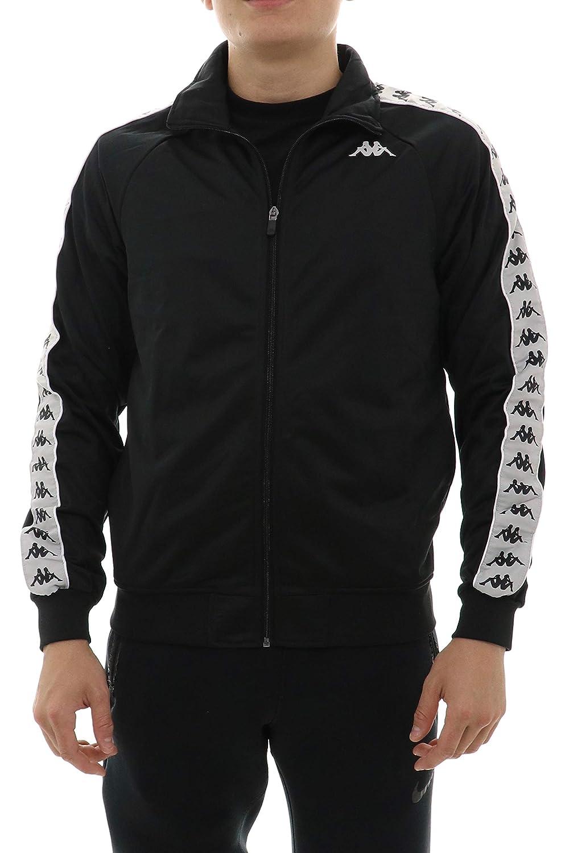 bd1ff5d9bd Kappa 222 Banda Anniston Jacket - Violet/Black/White at Amazon Men's ...