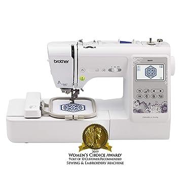 Amazon.com: Máquina de coser Brother SE600,para ...