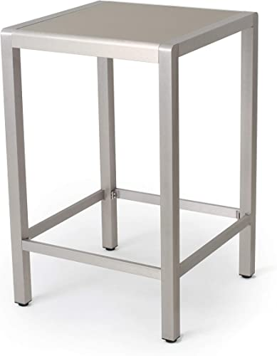 Christopher Knight Home Cape Coral Outdoor Aluminum Bar Table