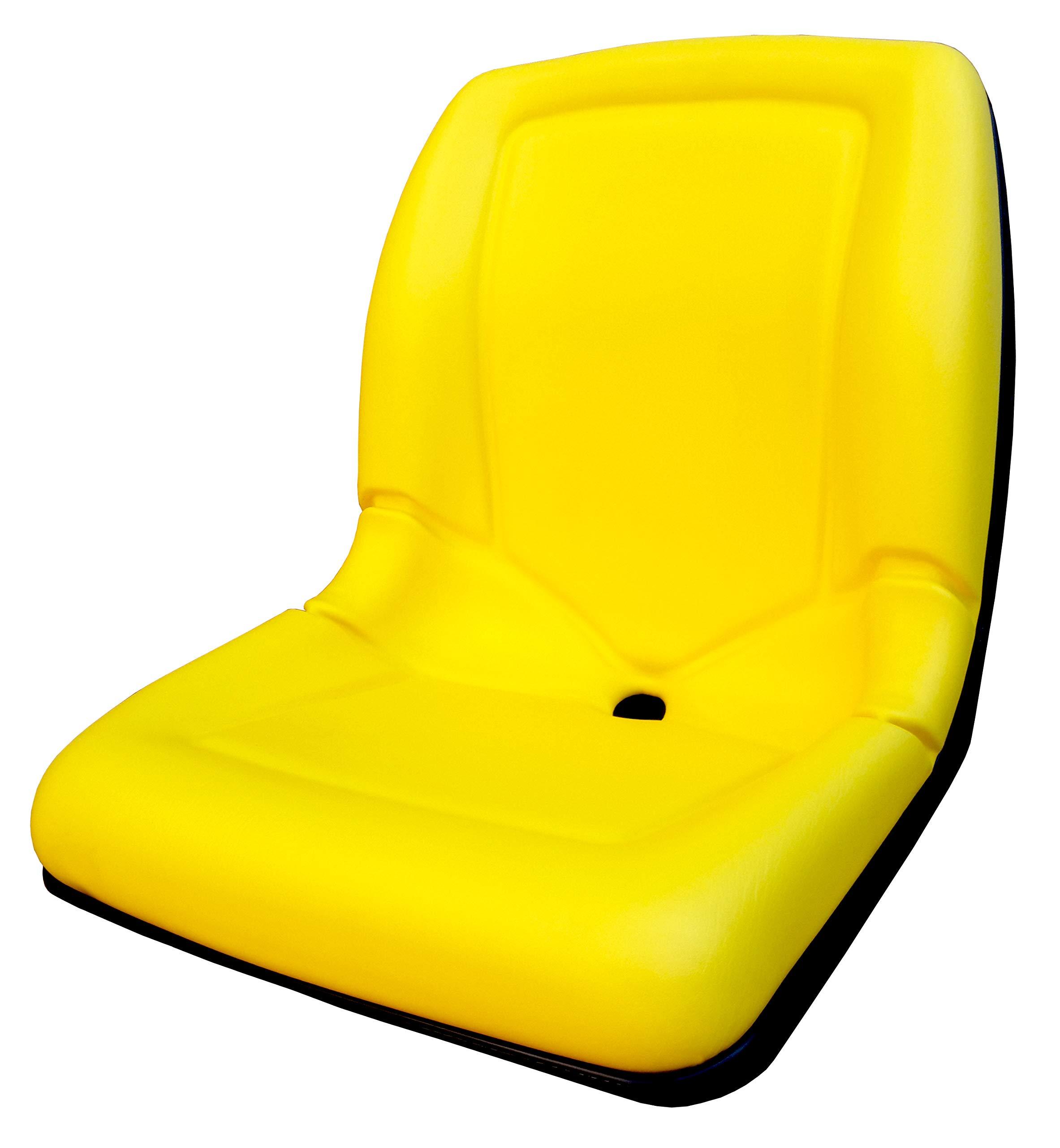 Star ST 1846 Yellow 18'' Gator Seat (for 4X2, 6X4, 4X4, CX E TE TH Trail Turf, John Deere: AM123636, AM129968, VG11696, VG12160, AM121752, AM129969 & All KUBOTA)
