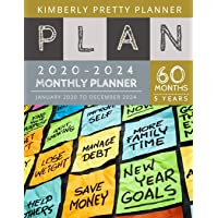 5 year Monthly Planner 2020-2024: personal calendar planner