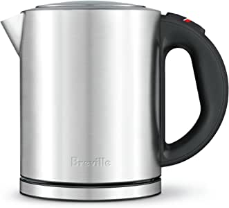 Breville Compact Kettle, Brushed Stainless Steel BKE320BSS
